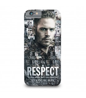 Respect printed mobile cover